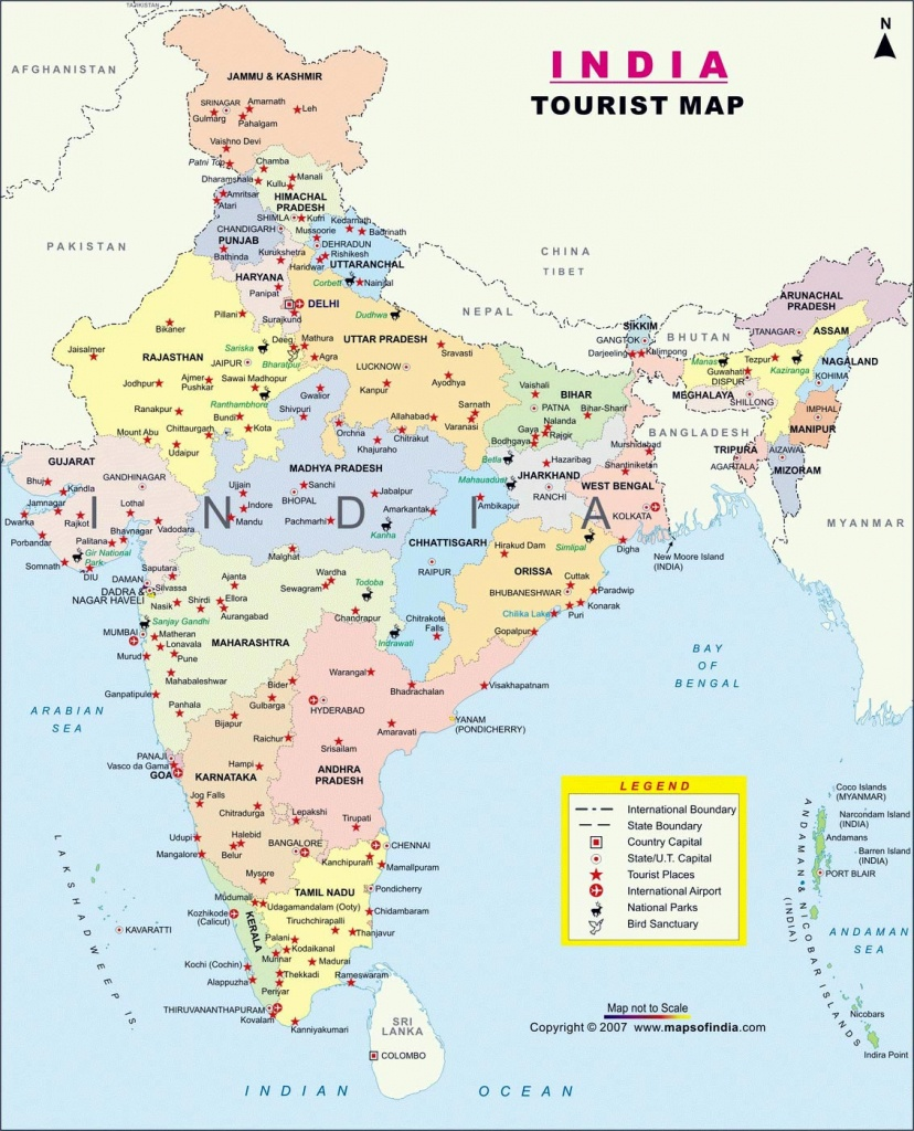 India Maps | Printable Maps Of India For Download - Printable Map Of India