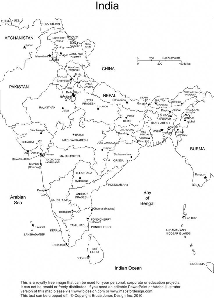 India Printable, Blank Map, New Delhi,, Royalty Free | Holi | India - India Map Printable Free