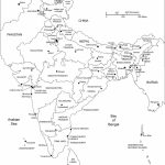 India Printable, Blank Maps, Outline Maps • Royalty Free   India River Map Outline Printable