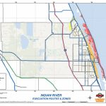 Indian River County Evacuation Zones And Evacuation Routes | Blog   Florida Evacuation Route Map