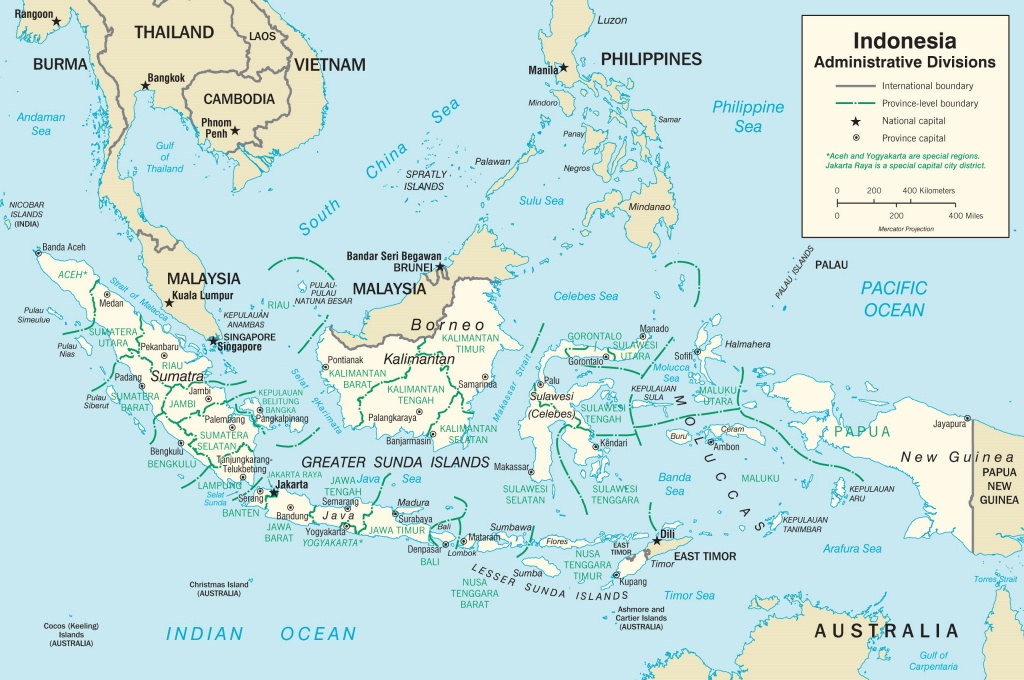 Indonesia Maps | Maps Of Indonesia - Printable Map Of Indonesia