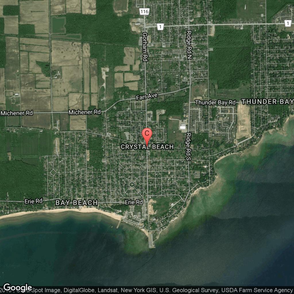 Information On Crystal Beach, Texas | Usa Today - Texas Beaches Map
