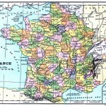 Instant Art Printable   Map Of France   The Graphics Fairy   Printable Map Of