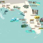 Interactive Florida Map - Laura Barnard / Map Illustrator - Anna Maria Island In Florida Map