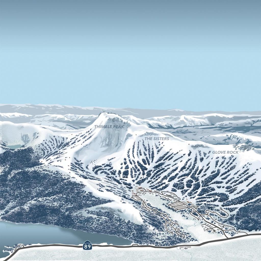 Interactive Map   Kirkwood Ski Resort - Kirkwood California Map
