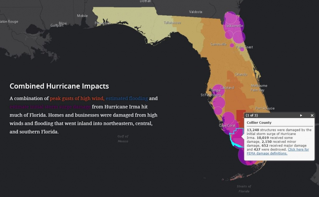 Interactive Story Map Shows Hurricane Impacts And Florida's - Florida Disaster Map