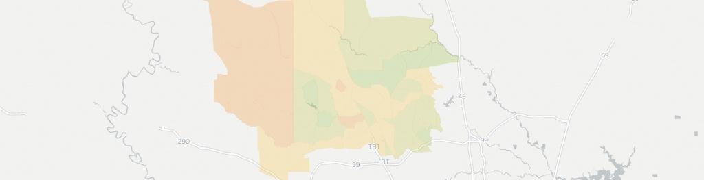 Internet Providers In Magnolia, Tx: Compare 19 Providers - Magnolia Texas Map