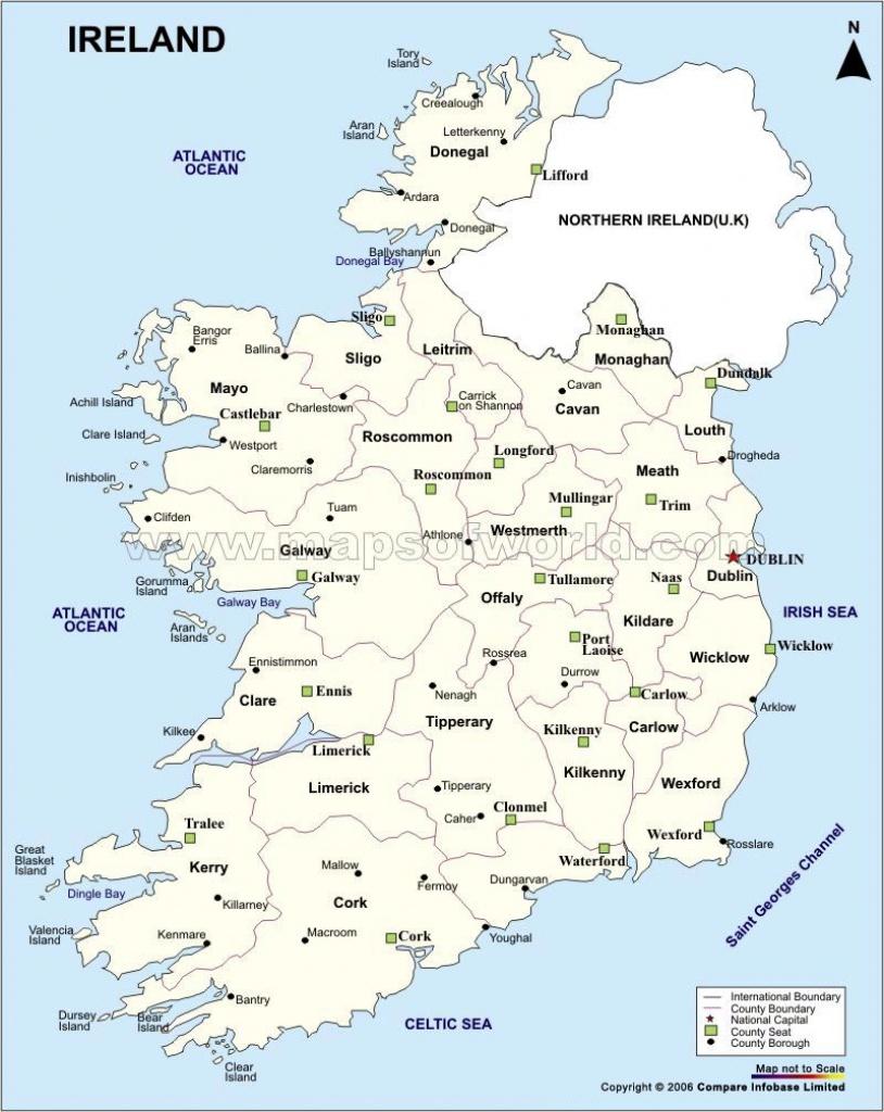 Ireland Maps | Printable Maps Of Ireland For Download - Printable Map Of Ireland Counties And Towns