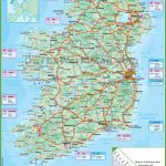 Ireland Road Map   Free Printable Map Of Ireland