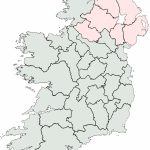 Irish Counties Blank Map – Uk Map   Printable Blank Map Of Ireland