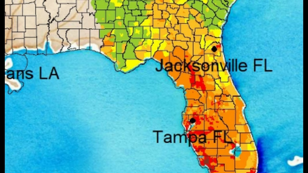 Irma To Bring Mass Power Outages, Most Flood Zone Property Is Not Insured - Florida Flood Risk Map