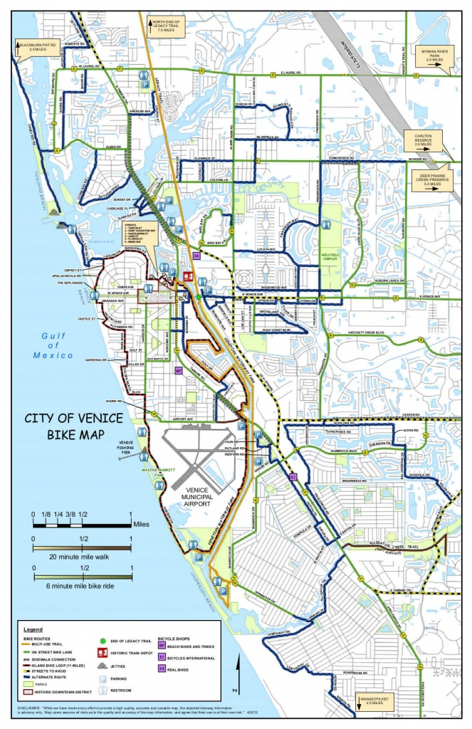 Island Parking - Visit Venice Fl - Venice Beach Florida Map