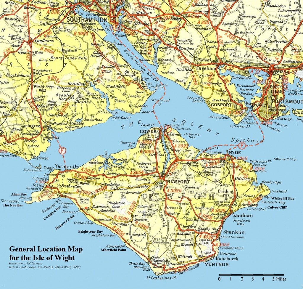Isle Of Wight Map - Isle Of Wight United Kingdom • Mappery | Paris - Printable Map Of Isle Of Wight