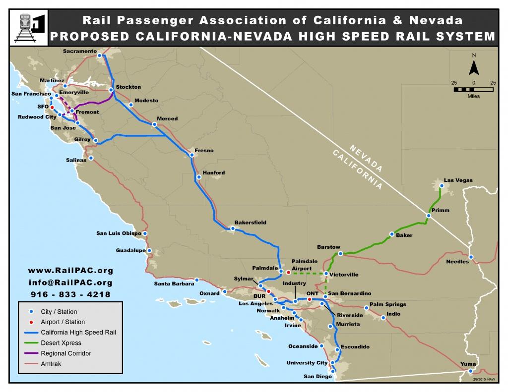 Issues – Railpac - California High Speed Rail Project Map