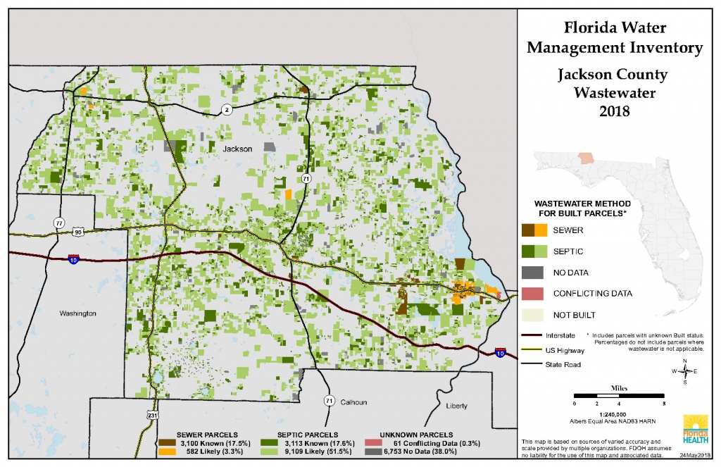 Jackson Florida Water Management Inventory Summary | Florida - Jackson County Florida Parcel Maps