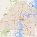 Jacksonville, Florida Map   Map To Jacksonville Florida