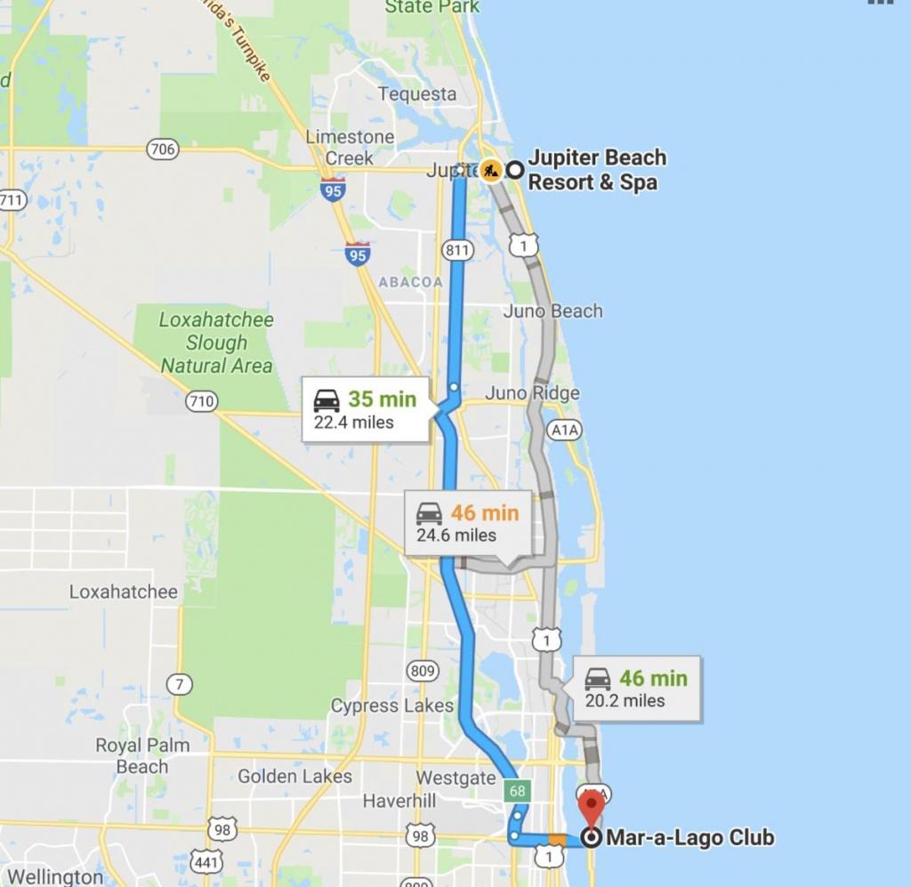 "Jrehling On Twitter: ""this Robert Kraft Case Got Me Navigating - Google Maps Jupiter Florida"