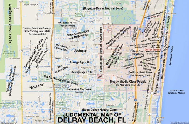 Del Ray Florida Map