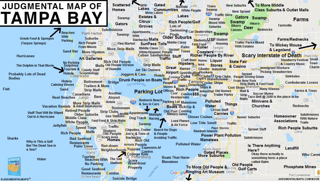 Judgmental Maps — Tampa Bay, Flalex S. Copr. 2017 Judgmental - Tampa St Petersburg Map Florida