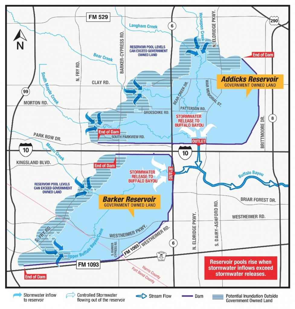 Katy Flood Zones - Map Of Cinco Ranch Texas