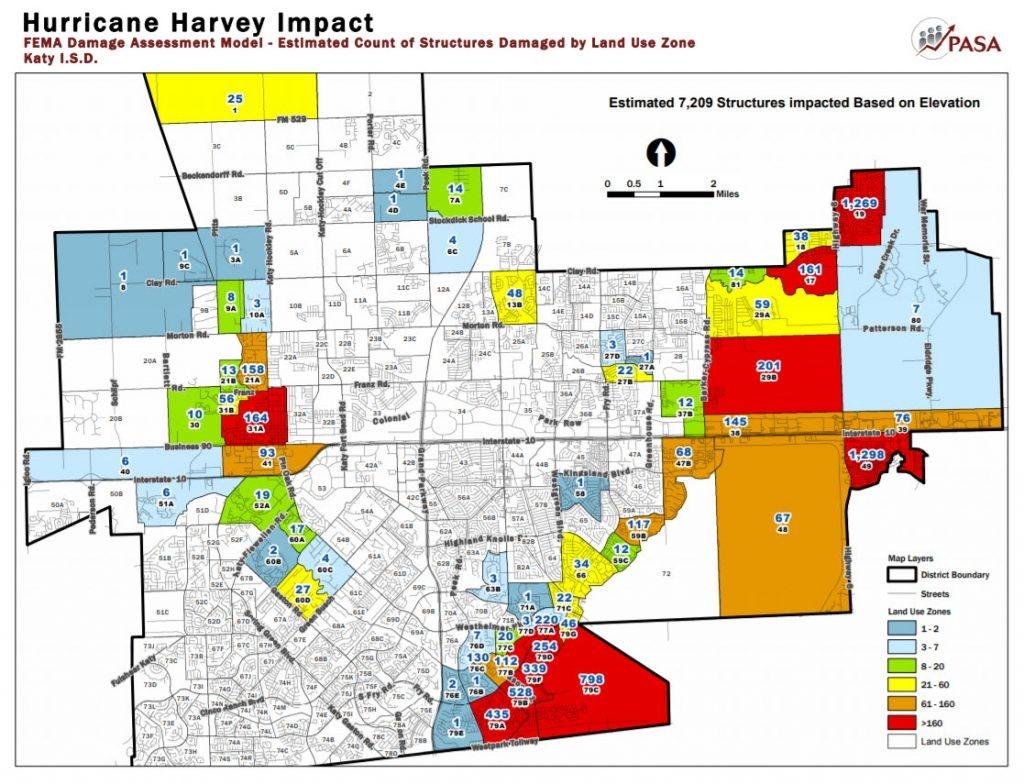 Katy Flood Zones - Texas Flood Zone Map 2016