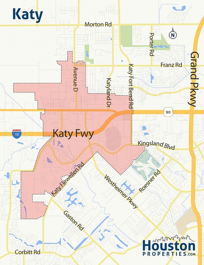 Katy Tx Neighborhood Map | Great Maps Of Houston In 2019 | Houston - Katy Texas Flooding Map