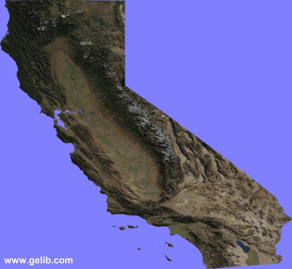 Kenji Haroutunian | California Terrain Map - Kenji Haroutunian - California Terrain Map