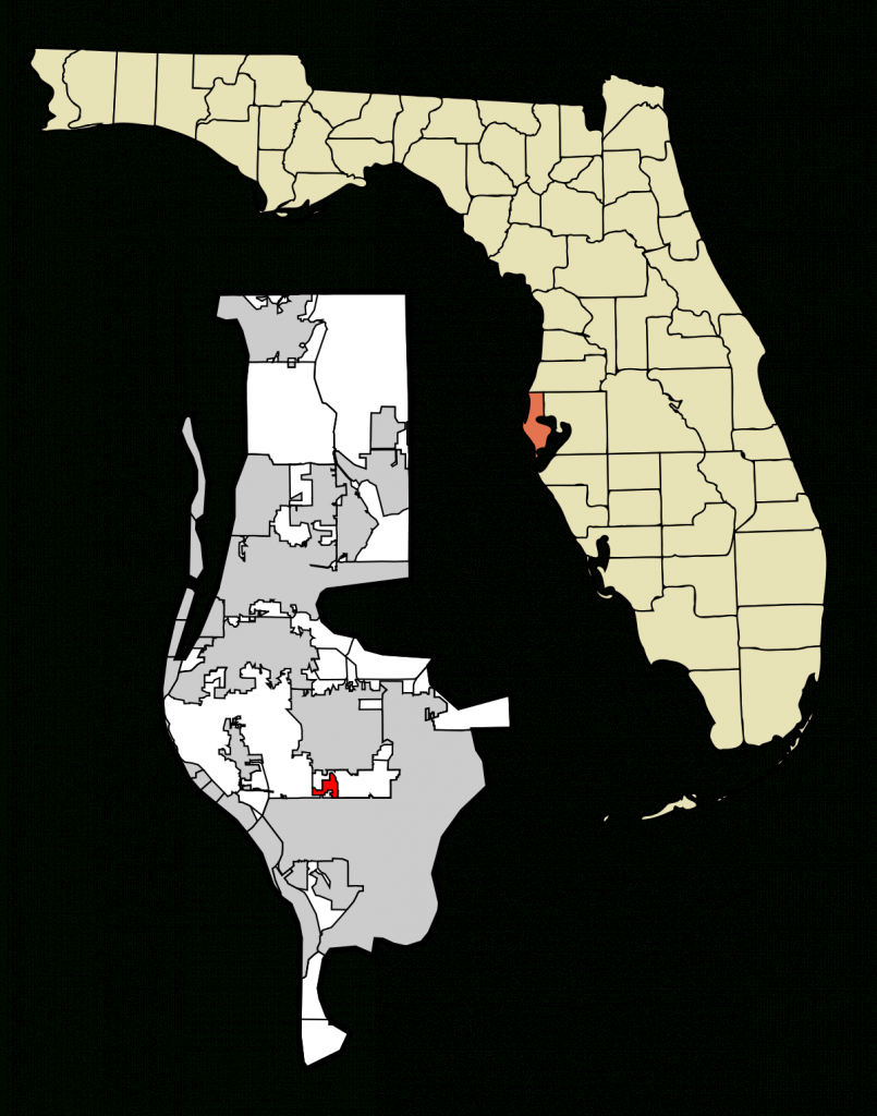 Kenneth City, Florida - Wikipedia - Punta Verde Florida Map