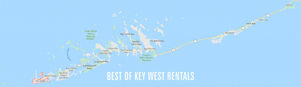 Key West Neighborhood Map | Best Of Key West Rentals - Google Maps Key West Florida