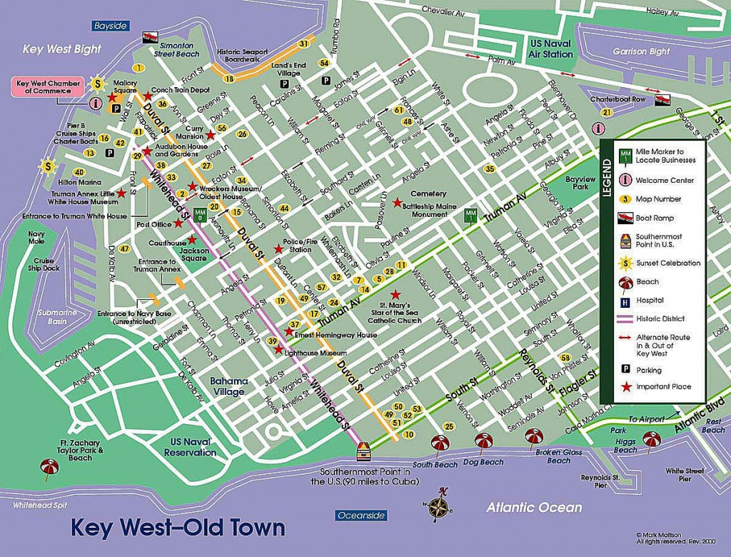 Key West Street Map | Map Of Key West - The Dis Discussion Forums - Key West Street Map Printable