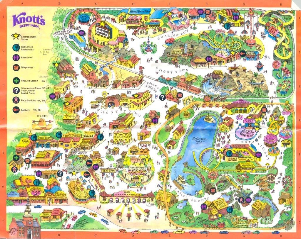 Knotts Berry Farm, Buena Park Ca   Favorite Places In 2019   Knotts - Knotts Berry Farm Map California