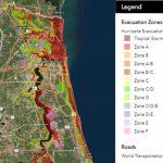 Know Your Flood/evacuation Zone   Florida Evacuation Route Map