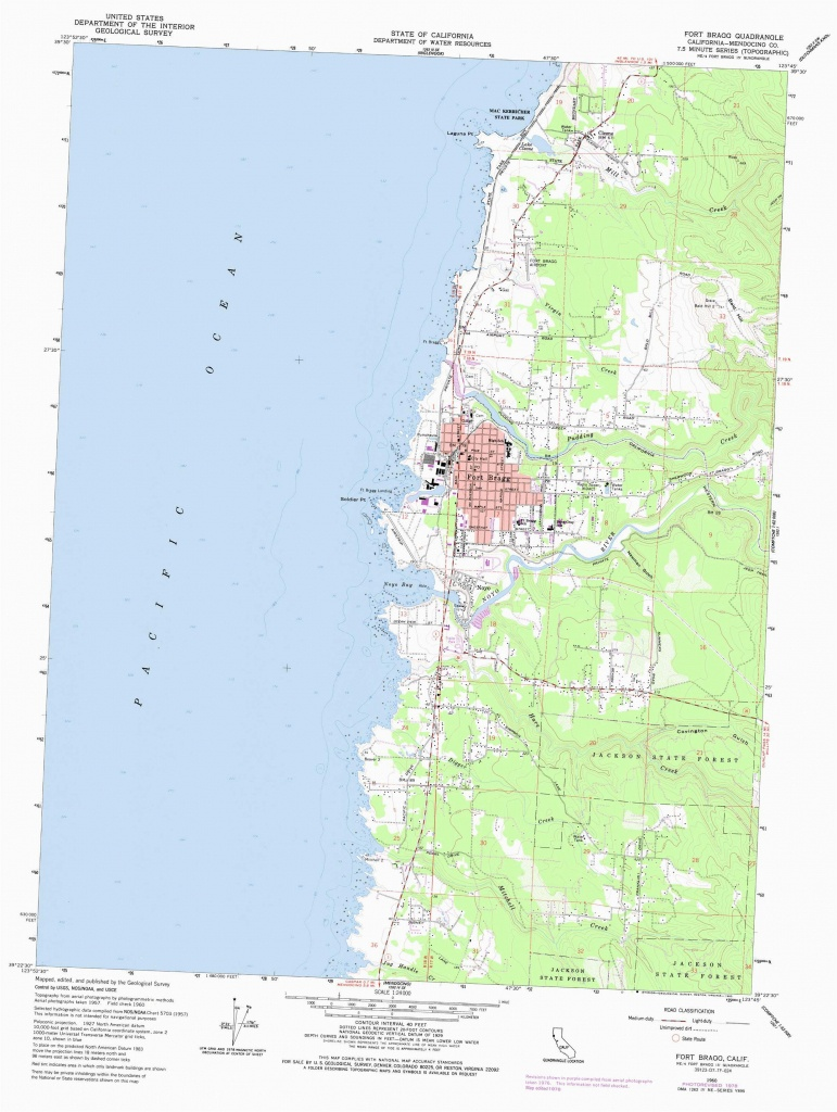 Koa Campgrounds California Map Fort Bragg Map Lovely Harbor Rv Park - California Campgrounds Map