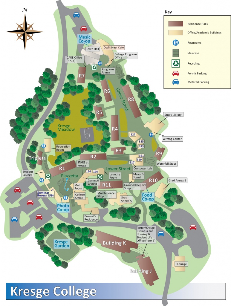 Kresge Maps And Directions - University Of California Santa Cruz Campus Map