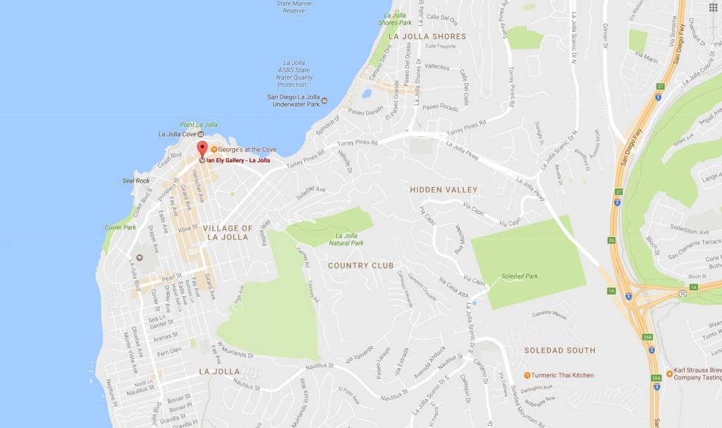 Lajollamap Ianelygallery Jpg Within La Jolla California Map - Touran - La Jolla California Map