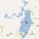 Lake Bridgeport   Bridgeport Texas Map