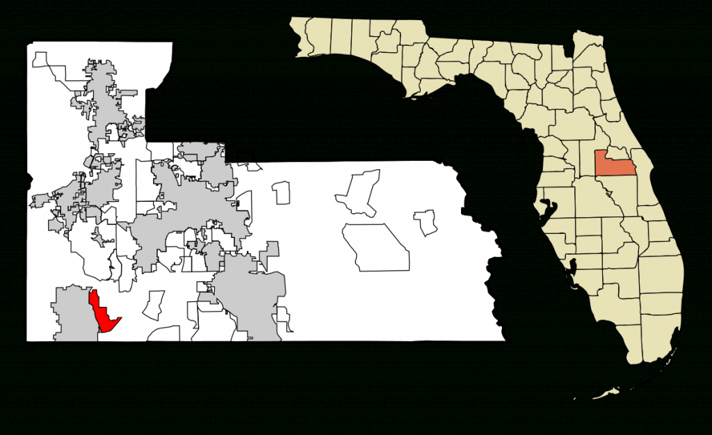 Lake Buena Vista, Florida - Wikipedia - Clear Lake Florida Map