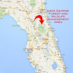 Lake George Florida Map | Woestenhoeve - Lake George Florida Map
