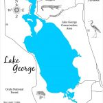 Lake George, Florida - Wood Laser Cut Map | Lake George Florida - Lake George Florida Map