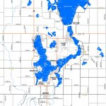 Lake Maps, Sizes & Depths – Iowa Great Lakes Association   Printable Lake Minnetonka Map