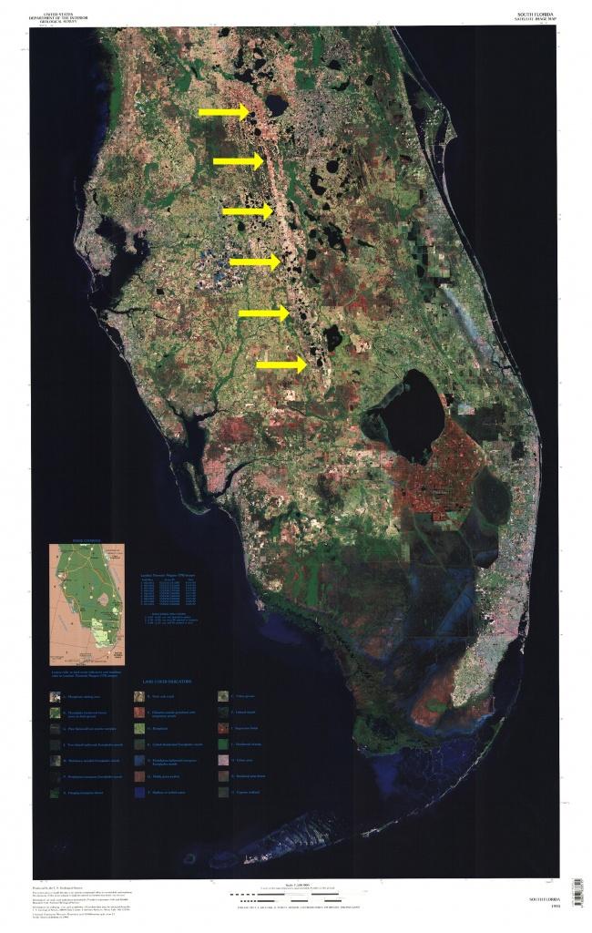 Lake Wales Ridge - Wikipedia - Lake Wells Florida Map