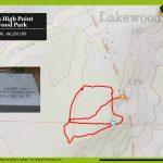 Lakewood Park: Florida's High Point At Britton Hill | Florida Hikes!   Lakewood Florida Map