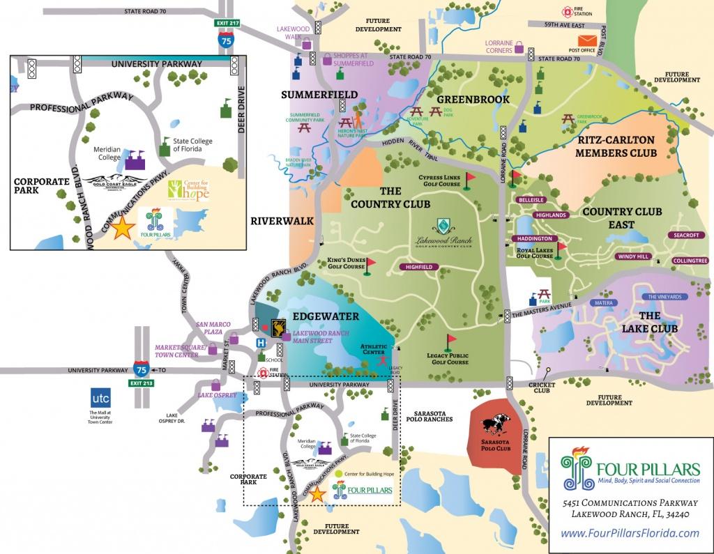 Lakewood Ranch Florida Map | Fysiotherapieamstelstreek - Lakewood Ranch Map Florida