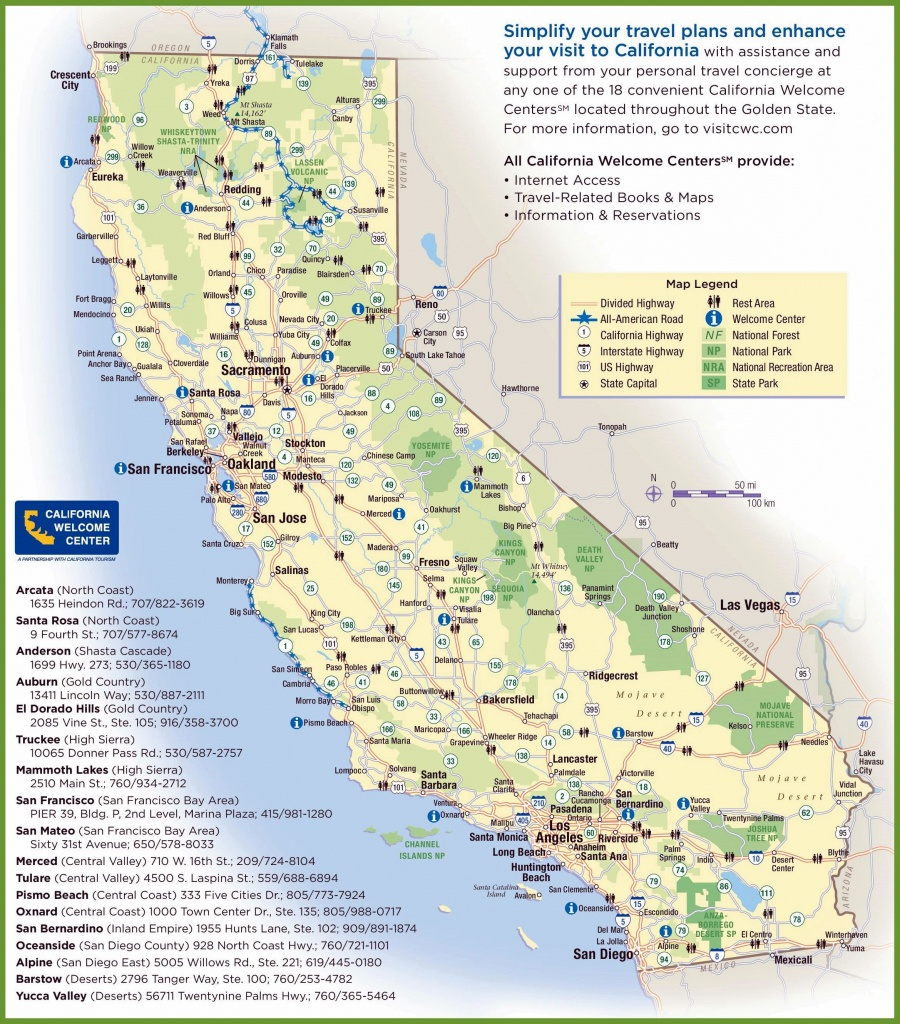 Large California Maps For Free Download And Print   High-Resolution - Southern California Road Map Pdf