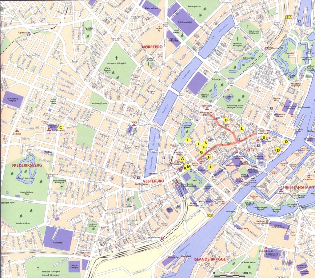 Large Copenhagen Maps For Free Download And Print   High-Resolution - Copenhagen Tourist Map Printable
