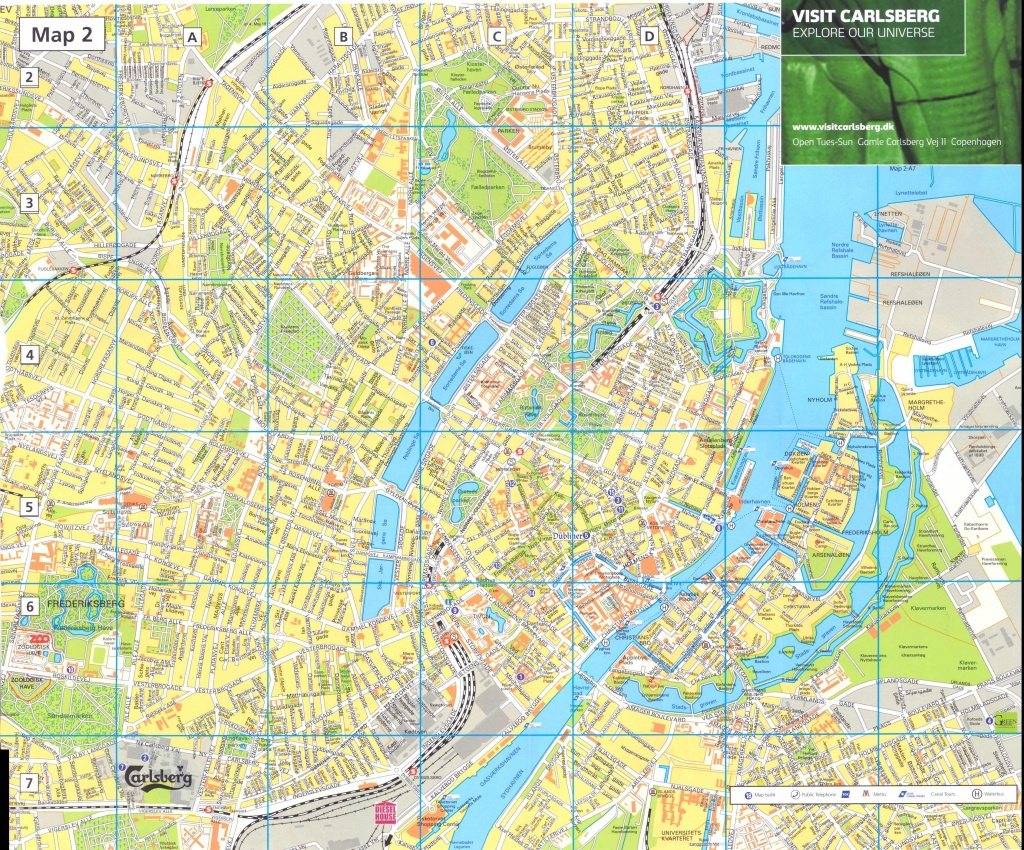 Large Copenhagen Maps For Free Download And Print | High-Resolution - Printable Map Of Copenhagen