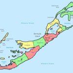 Large Detailed Administrative Map Of Bermuda. Bermuda Large Detailed   Printable Map Of Bermuda