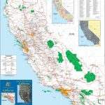 Large Detailed Map Of California With Cities And Towns   Large Detailed Map Of California