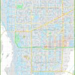 Large Detailed Map Of Cape Coral   Map Of Florida Including Cape Coral