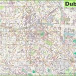 Large Detailed Map Of Dublin   Printable Map Of Dublin